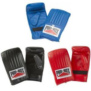 Gorilla Sports Gants de boxe fins noir haute qualité pour entrainement Tailles