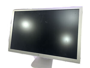 """Apple A1082 23"""" Widescreen Aluminum Cinema HD Display Monitor (For Parts)"""
