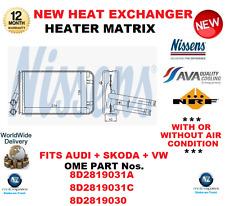 für 8d2819031a 8D2819031C 8d2819030 Wärmetauscher Matrix passend für AUDI SKODA