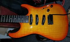 RARE Fender Showmaster Stratocaster MIK S/S/S guitar Seymour Duncans Archtop