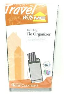 Travel Tie Case Men Travel Necktie Box Travel Tie Case Holder Storage