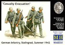 Masterbox German Infantry Stalingrad 1942 Casualty Evacuation 1:35 Verwundeter