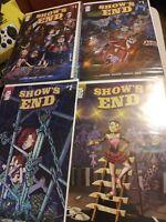 Shows End 1a 1b 2 3 Mad Cave near mint unread great gift idea 4 books comic