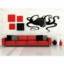Wall Gift Vinyl Sticker Decals Mural Design Octopus Ocean Animal Predator #426