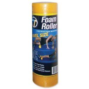 "Pro-Tec Athletics Travel Size Foam Roller 4""x12"" Yellow"