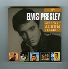BOX 5 CDs ELVIS PRESLEY ORIGINAL ALBUMS CLASSICS (2)