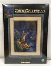 Dimensions The Gold Collection Hidden Spirits Cross Stitch Kit 35055 11x15 New