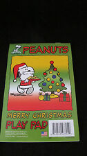 PEANUTS CHRISTMAS  COLORING & ACTIVITY PAD