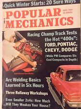 Popular Mechanics Magazine Ford Pontiac Chevys January 1964 081617nonrh