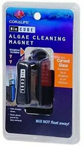 Coralife small Bio Cube Mag Magnet Cleaner algae cleaning biocube for glass tank