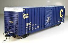 ExactRail Ho Scale Chessie System B&O Berwick 7327 Box Car F/P #410207 Ob New