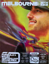 2020 FORMULA 1 F1 AUSTRALIAN MELBOURNE GRAND PRIX OFFICIAL RACE PROGRAM +GUIDE