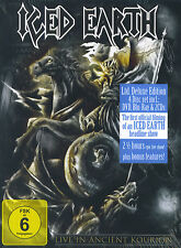 Iced Earth : Live in Ancient Kourion - Ltd. Deluxe Edition (DVD, Blu-Ray & 2 CD)