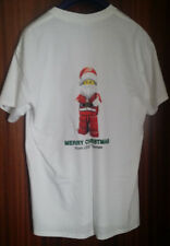 Official LEGO Store PROMO LAUNCH T Shirt LARGE SANTA Christmas CREATIONARY BNWOT