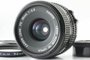 [ MINT! ] Canon New FD NFD 35mm F2.8 Wide Angle MF Manual Lens from JAPAN #B018