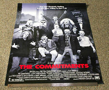 """COMMITMENTS - 1991 ORIGINAL ROLLED 27"""" X 40"""" FILM POSTER - ALAN PARKER"""