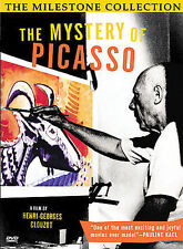 The Mystery of Picasso DVD Clouzot - LIKE NEW - Free Shipping