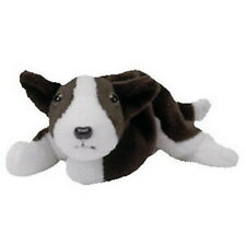 Ty Bruno Miniature Bull Terrier Beanie Babies Dog with Tags