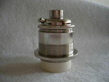 Cromo plateado, sostenedor de la lámpara de 10 mm Entrada-E26-por Lilley Std. Eddison Tornillo Lámparas