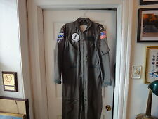 US Navy  Military Nomex Flight Suit + Patches VA-35 '70 Nam Cruise