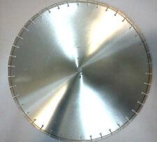 """24"""" LASER WELDED - Reinforced Cured Concrete Diamond Saw Blade 24x140x1 10mm SEG"""