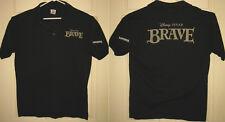 BRAVE Polo Shirt L 2012 Disney Pixar Cinemark Century Theatres OOP HTF RARE