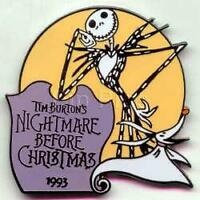 Disney Store Nightmare Before Christmas 1993 Pin