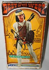 MARX VINTAGE GERONIMO BEST OF THE WEST JOHNNY WEST COMPLETE ACCESSORIES W/BOX