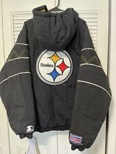 New listing Vintage Starter Pittsburgh Steelers Pullover Jacket Sz.XL