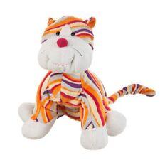 Ganz Webkinz Striped Cheeky Cat Plush Orange NEW  Rainbow