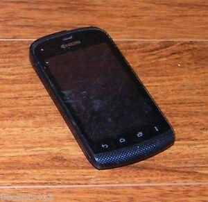 Kyocera Hydro C5170 - 2GB - Black (Boost Mobile) Pre-Paid Smartphone **READ**