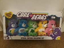 Care Bears Special Edition Collector Set Of 5 Exclusive Harmony Bear New Rare