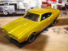 100% HOT WHEELS 1969 PONTIAC GTO 400  LIMITED EDITION 1/64