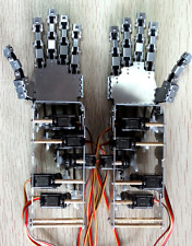 5DOF Humanoid 5 Fingers Manipulator Arm Hands + 5pcs Servos DIY For Robot