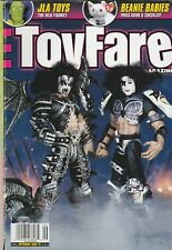 Toy Fare - Sept 1998 - Kiss Psycho Circus Figures - Gene Simmons - Paul Stanley