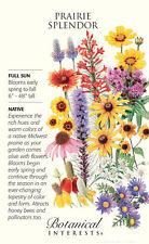 Prairie Splendor Flower Seeds - 10 grams - Botanical Interests