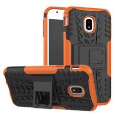 HYBRID COQUE 2 Pièces Extérieur Orange housse étui pour Samsung Galaxy J7 j730f
