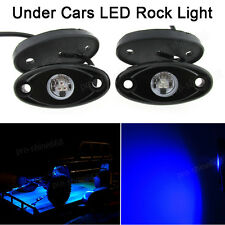 4x Blue Offroad Truck Car ATV SUV Underbody Glow Light Lamp Tail Light Fit Ford
