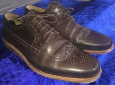 """Paul Smith """"Gordon"""" Brown Leather Brogue, Uk 9 Eur 43, (504783) Made In Portugal"""