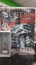DC COMICS EAGLEMOSS CHESS COLLECTION PIECE + MAG #84 STEEL WHITE PAWN SEALED
