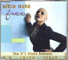 Ultra Naté - Free - CDM - 1997 - House 9TR Feel The Rhythm France Mood II Swing