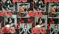 The Walking Dead ready for war character black remnant 46x108cms  Fabric