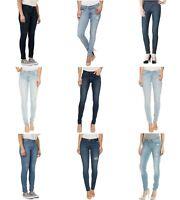 Levis 711 Skinny Jeans Womens Mid Rise Blue Wash 5 Pocket Zip Fly Stretch Denim