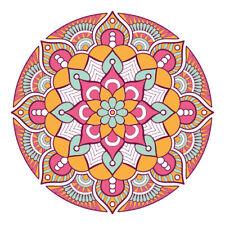 New Boho Mandala Design Sticker Decor Car, Van, Fridge, Laptop, Wall Art Decal