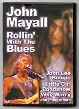 DVD / JOHN MAYALL ROLLIN' WITH THE BLUES (MUSIQUE CONCERT)