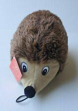 BIG Grunting Hedgehog Plush Dog Toy