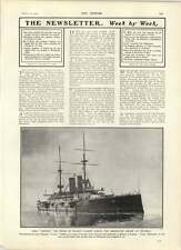 1902 Hms London Coronation Review Spithead  Schwab American Steel Trust Audience