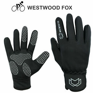 WFX Full Finger Cycling Gloves Winter Gloves Mens Anti Slip Thermal Windproof