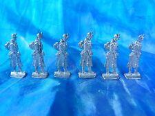 Plats d'étain - flat tin - zinnfiguren : 6 soldats français guerre de 1870