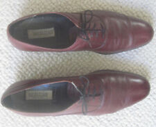 BURGANDY MEN'S DRESS SHOES--SIZE 14 M--MADE IN ITALY--FROM NORDSTROMS--XLNT